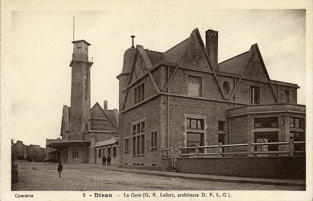 Dinan - exposition 140 ans de chemin de fer Dinan_12