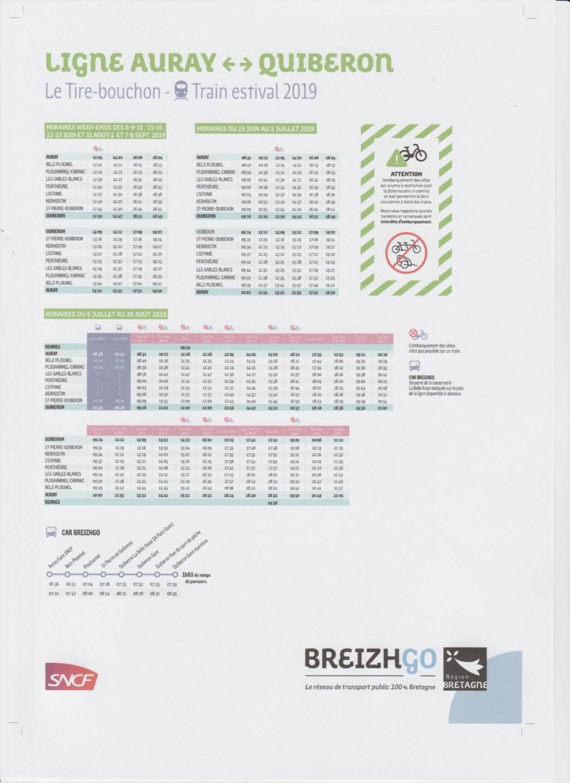 Tire bouchon  Auray-Quiberon. Les horaires 2019 sont en ligne Image_49