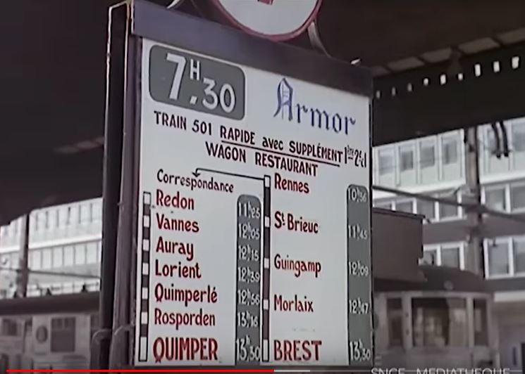 vidéo YouTube l'Armor en 1965 train rapide Paris Brest L_armo10