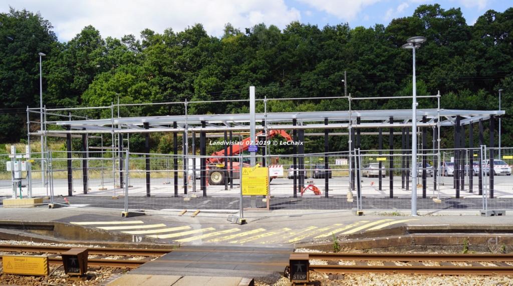 Landivisiau nouvel abri voyageurs en construction Landi_27