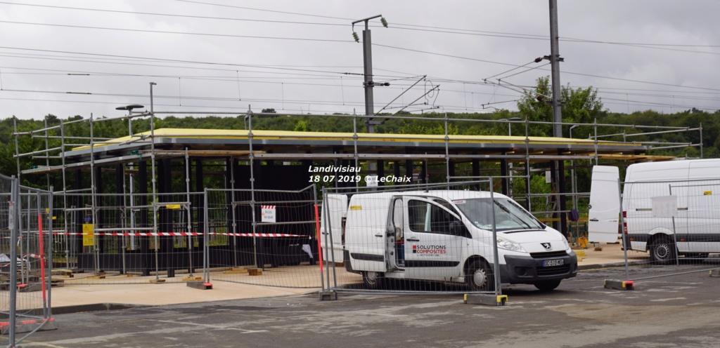 Landivisiau nouvel abri voyageurs en construction Landi_32