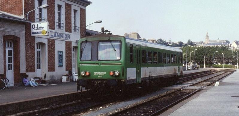au terminus de Lannion années 1990 Lannio14