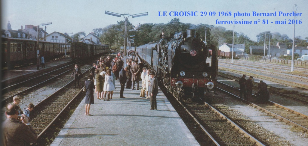 dimanche 14 octobre 2018 Vapeur Pacific 231 G 558 Nantes - Le Croisic Le_cro10