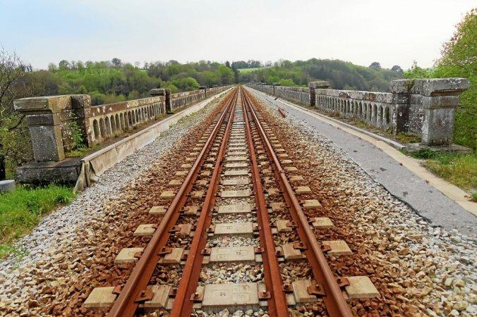 Quimper-Landerneau. Attention aux trains qui préparent la reprise du trafic Lopere11