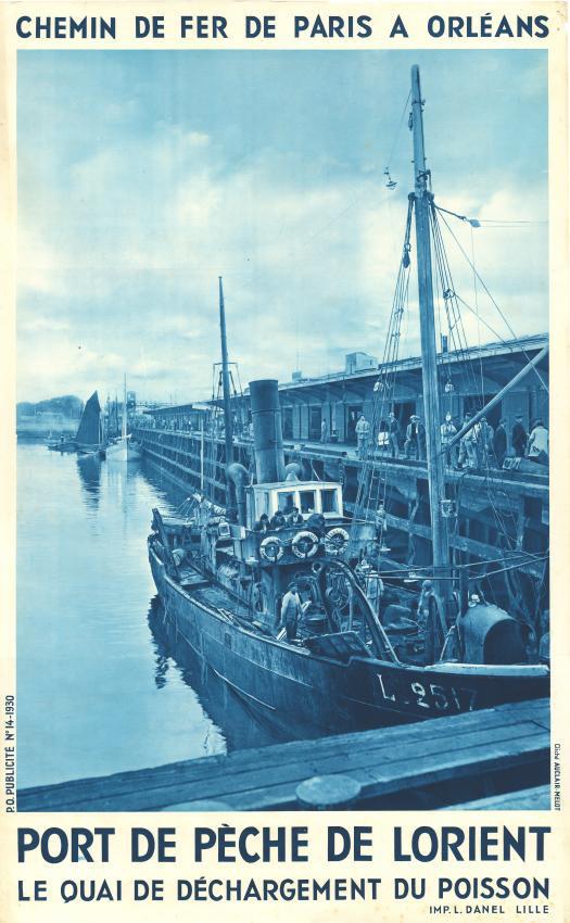 Années 1920- le P.O - Lorient et le transport de la marée Lorien10