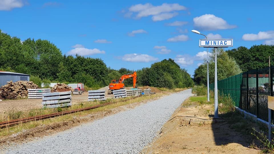 Il n'y aura plus de trains entre Dol et Dinan pendant un an Miniac11