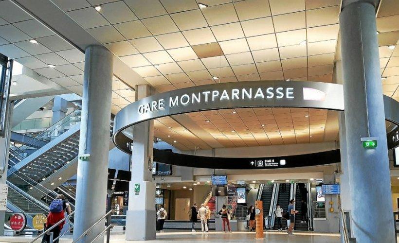 Montparnasse après 4 ans de travaux inauguration gare Montpa16