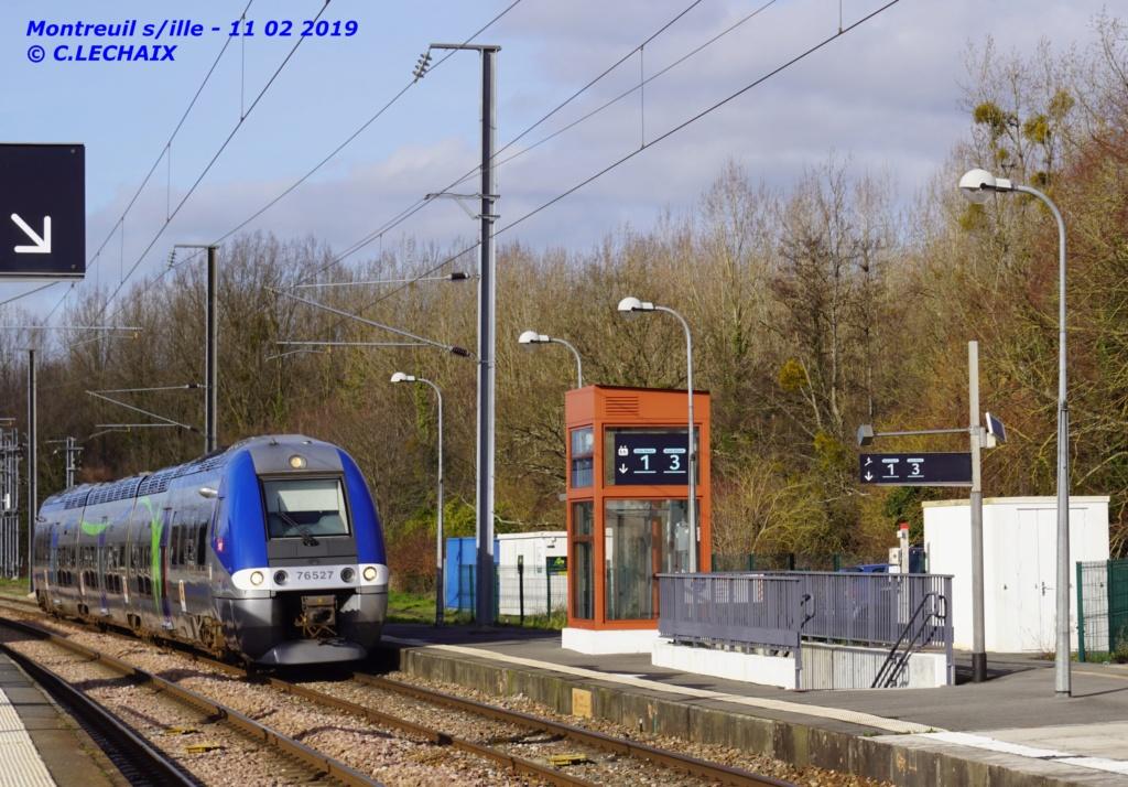 photo du jour AGC Caen - Rennes à Montreuil s ille 11 fev 2019 Montre10