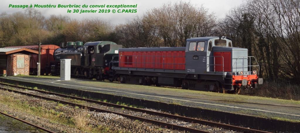Carhaix. La machine à vapeur BB 141 TB 424  est à la CFTA Mouste12