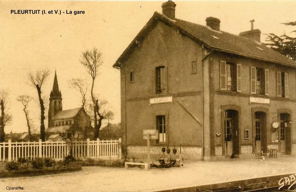 Ligne de Dinan (22) à Dinard (35) Pleurt10