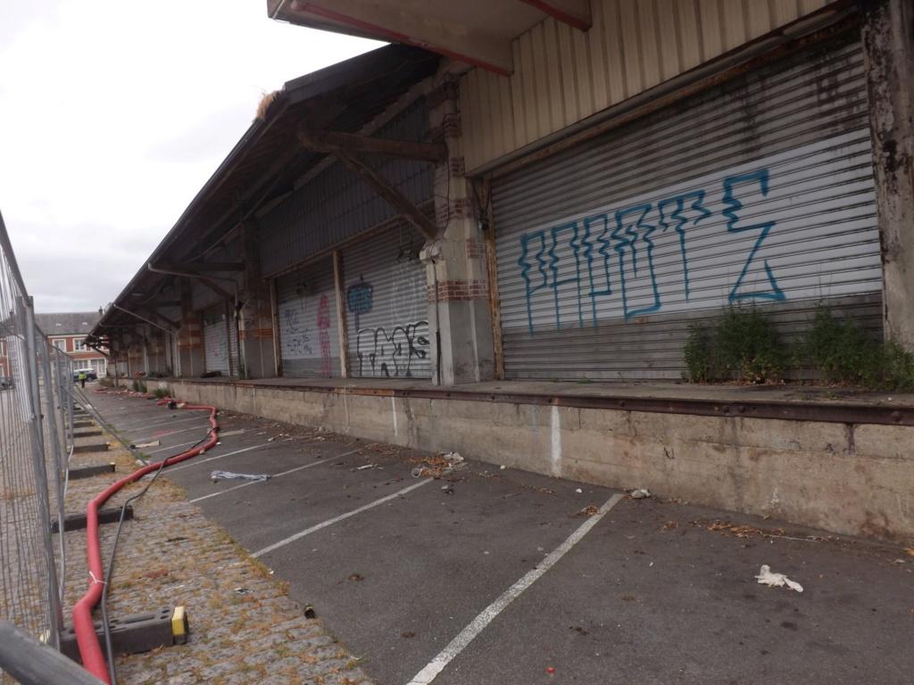 Quimer. Quinze nuits de travaux pour démolir la grande halle près de la gare Quimpe19