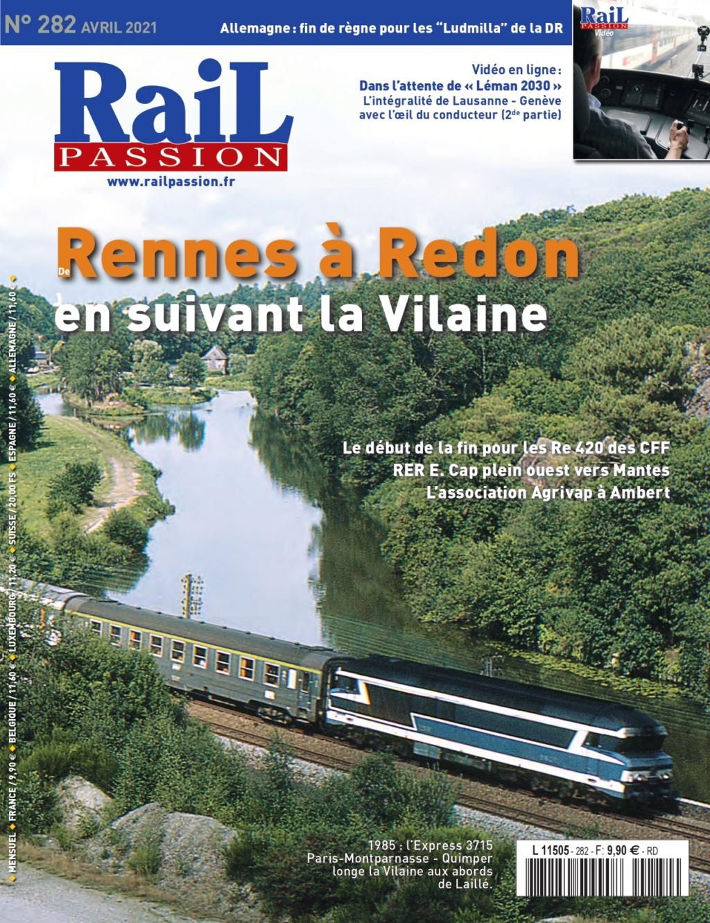 de Rennes à Redon en suivant la Vilaine Rail Passion 282 Rennes41