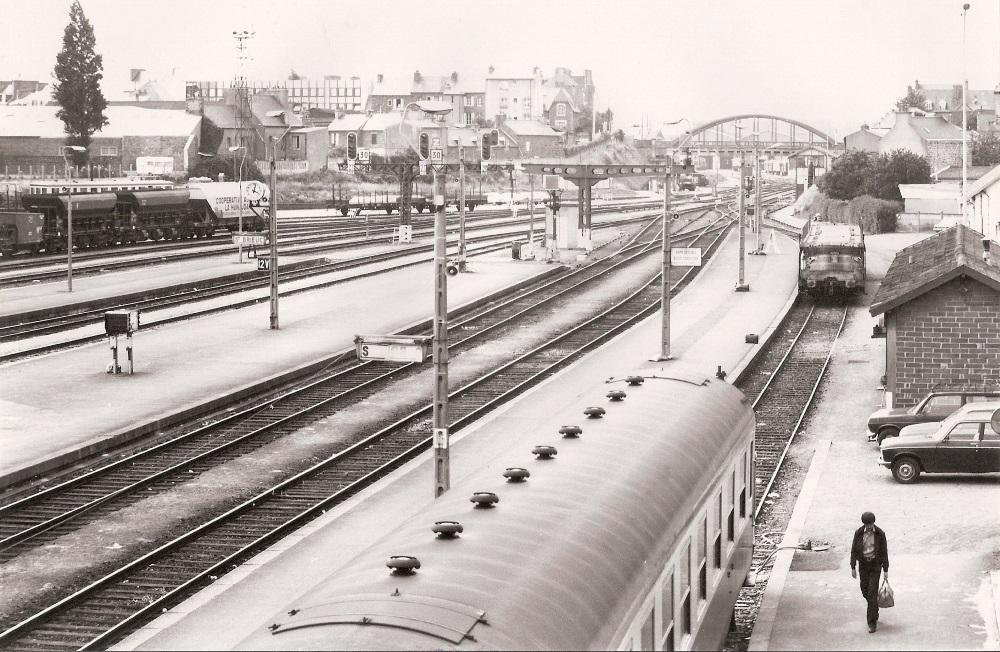 Saint Brieuc Train Autos Couchettes 1966 Saint_23