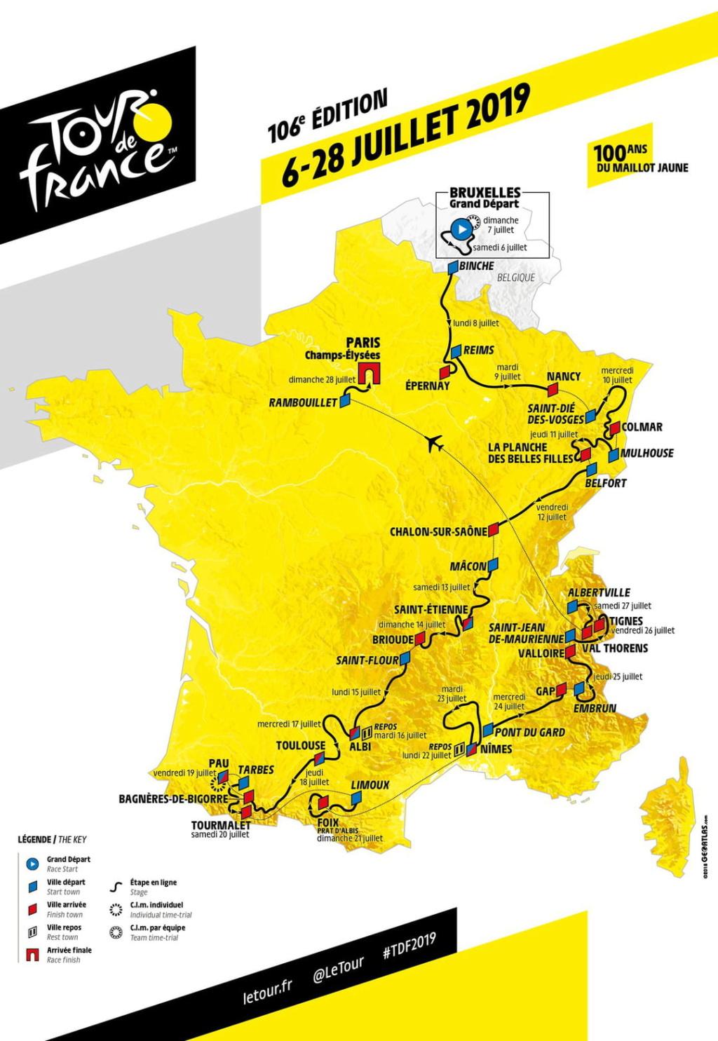 Tour de France cycliste Réouverture exceptionnelle ligne Remoulins 23 juillet 2019 Tour_d10