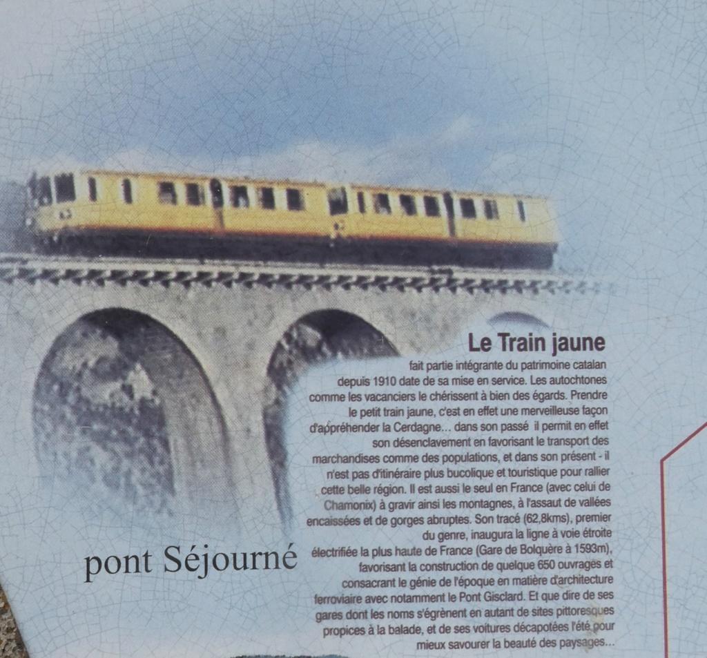le train jaune ligne de Cerdagne de Villefranche Vernet les Bains à latour de Carol Train_21