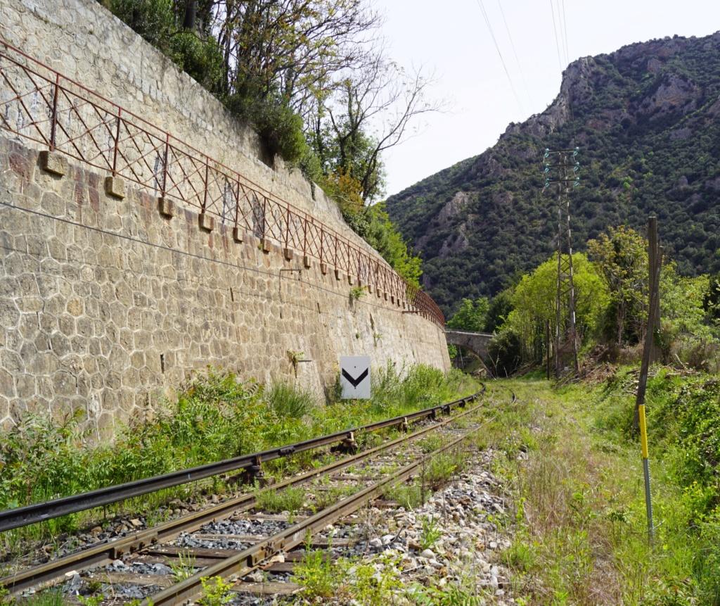 le train jaune ligne de Cerdagne de Villefranche Vernet les Bains à latour de Carol Villef14