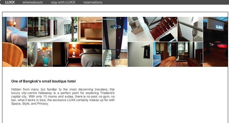 LUXX hotels Bangkok Screen35