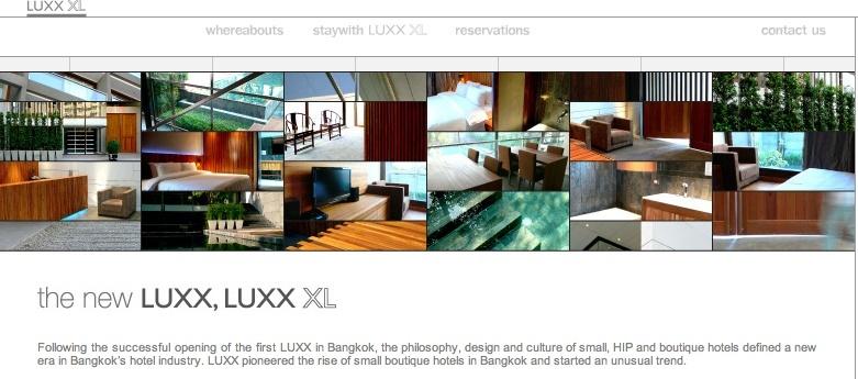 LUXX hotels Bangkok Screen36