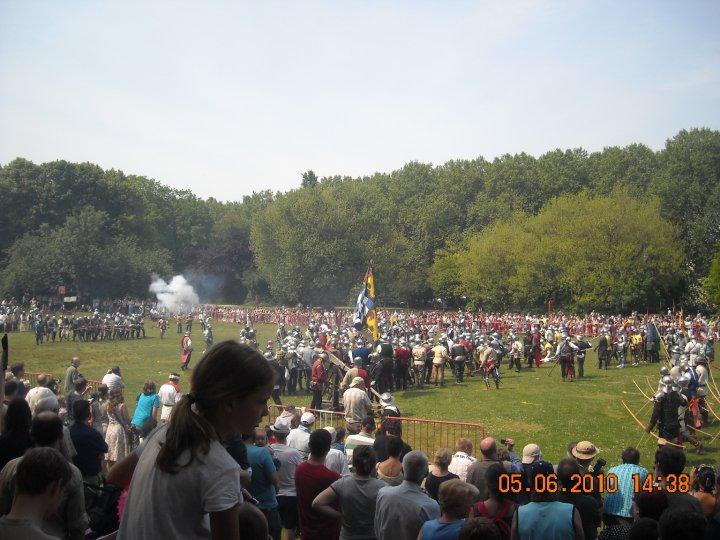 camp médieval de Sterkhofs (Anvers) Sterkh11