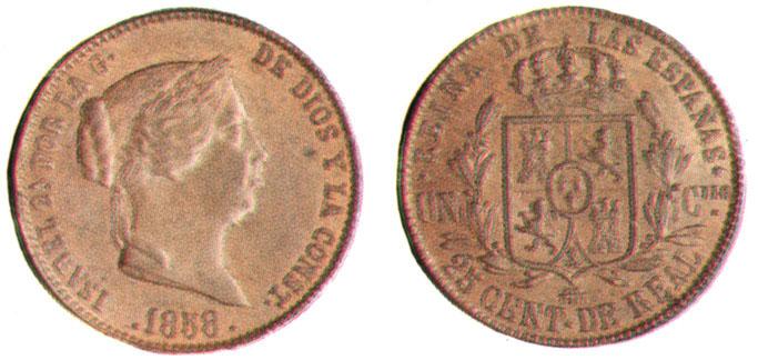 isabel segunda bonita moneda Cr2510