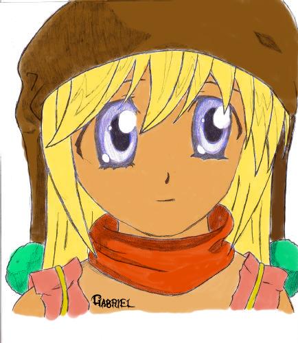 fan art gabriel Dibujo10