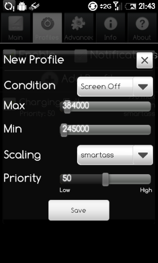 [TUTO]Optimiser la batterie sous ANDROID : SetCPU.apk 1ere_s18