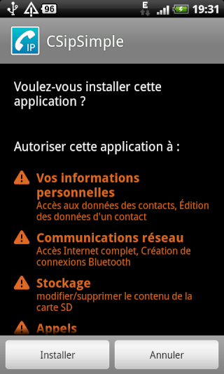 [TUTO] Téléphoner en VOIP sous Android (Tel gratuit) Csip210