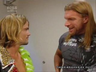 Steve Austin vs Chris Jericho vs The Brian Kendrick(Triple Treath Match) Pdvd_010