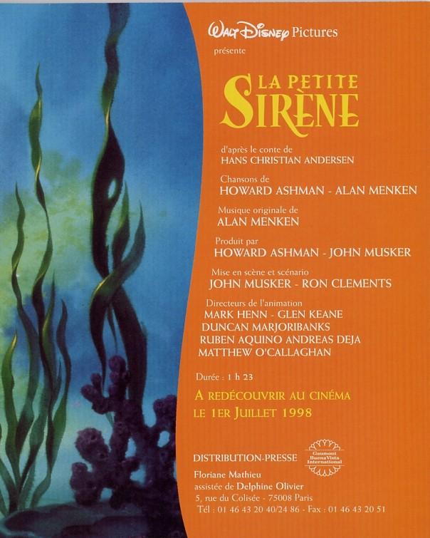 La Petite Sirène [Walt Disney - 1989] - Page 6 1998_011