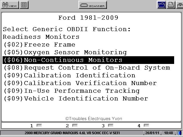 Mode 06 pour missfire de Ford User0111