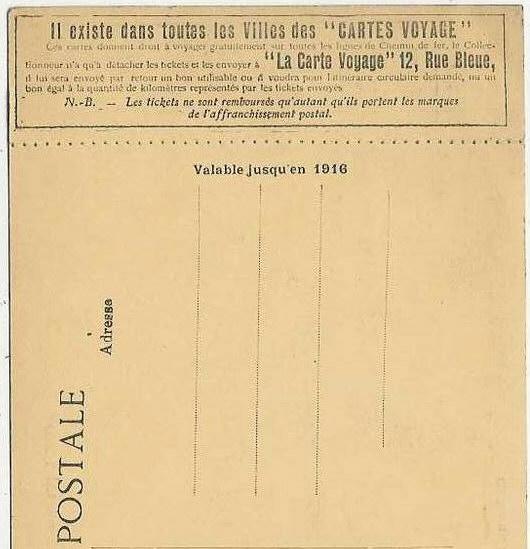 Taxe de Tunis 1912 Cv12