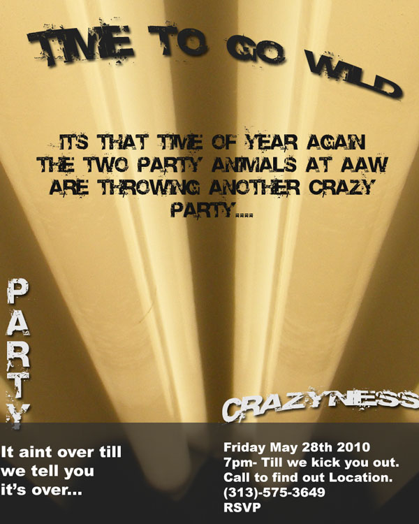 Assignment 23: graphic design - poster/cd cover Flyer-10