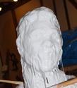 sculpture éphemère en cire Rtv_iv10