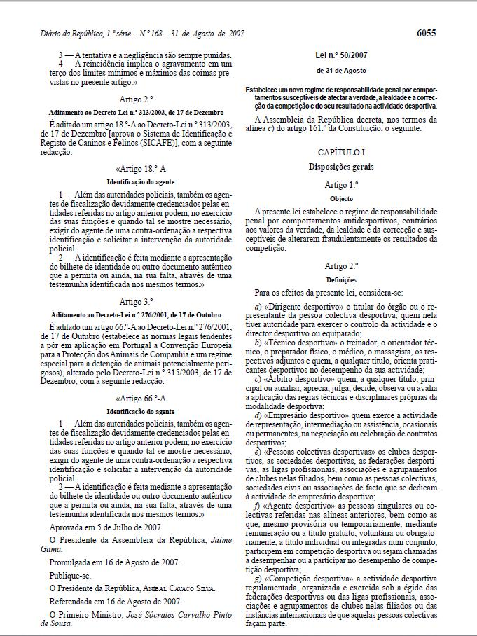 LEI 49-2007 DE 31 DE AGOSTO Lll14