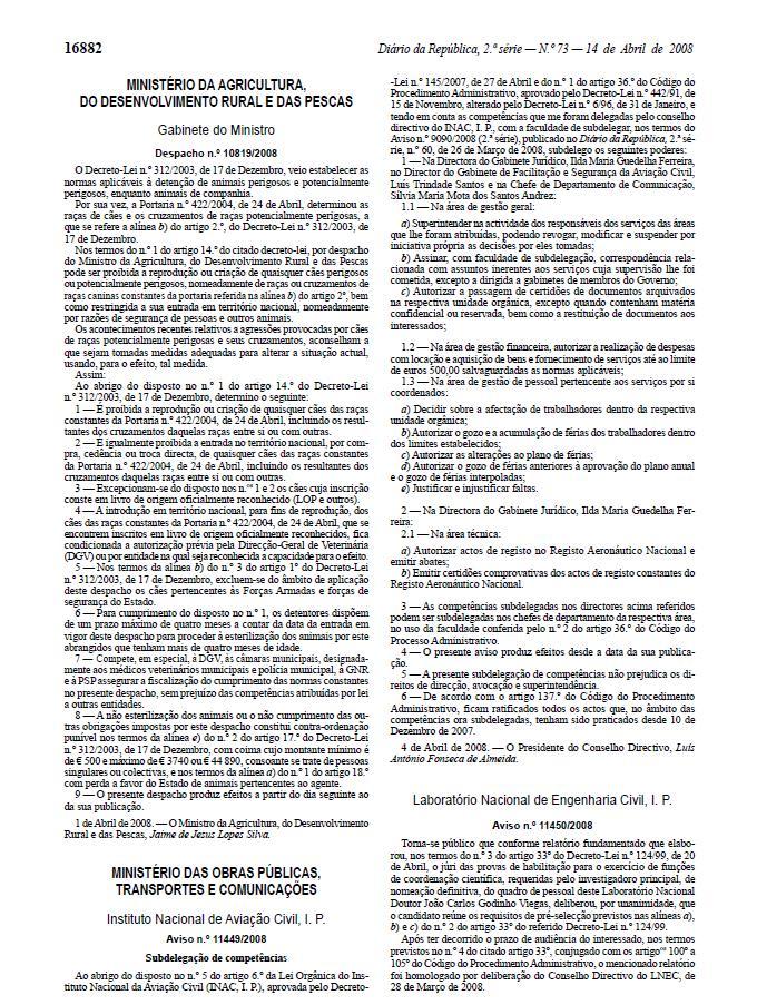 DESPACHO 10819-2008 DE 14 DE ABRIL Lll15