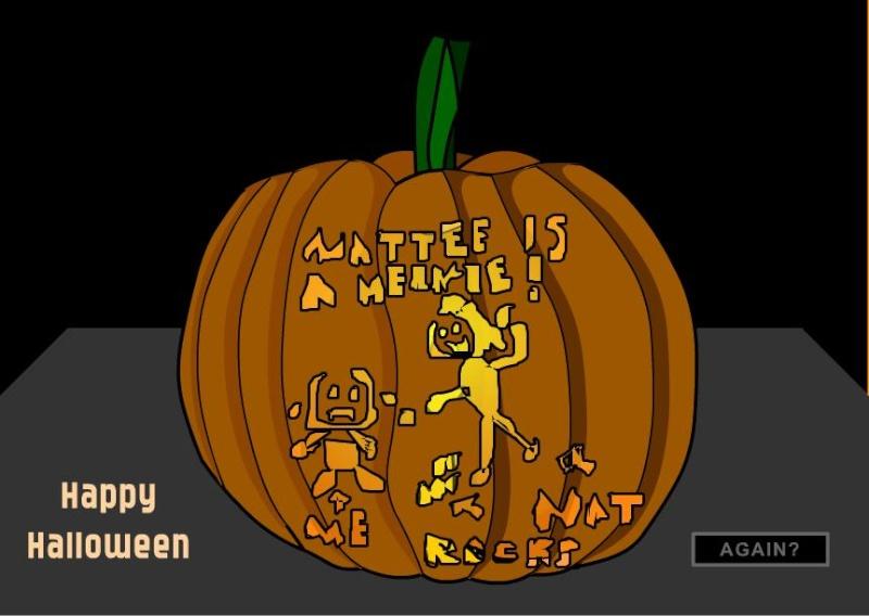 Carve Me a Pumpkin cake! Punkin12