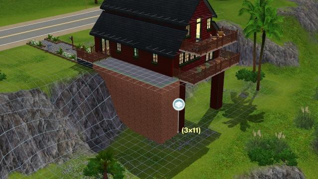 [Apprenti] Créer une avancée au dessus d'une falaise. 0317