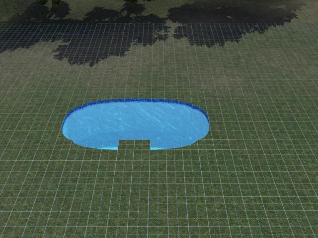 [Débutant] Construire une piscine ovale avec Accès VIP. Screen30