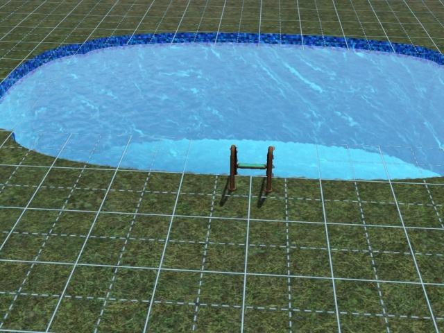 [Débutant] Construire une piscine ovale avec Accès VIP. Screen31