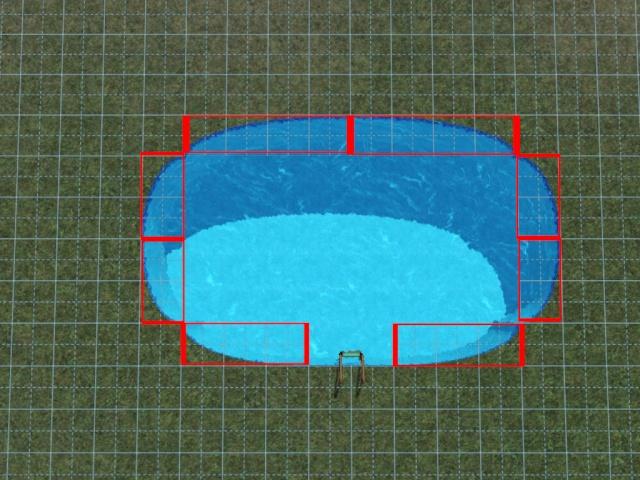 [Débutant] Construire une piscine ovale avec Accès VIP. Screen32