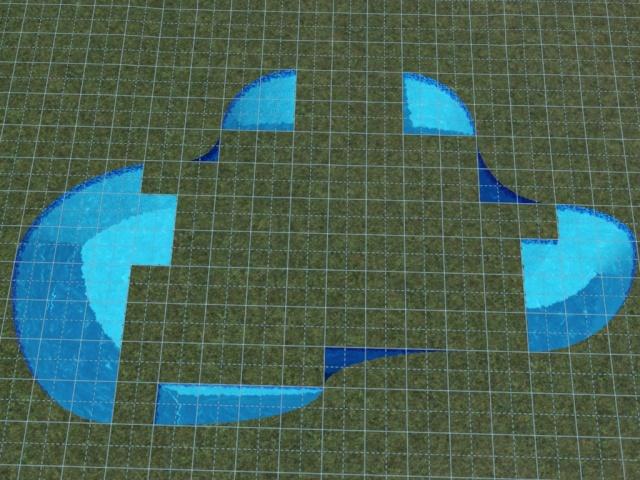 [Débutant] Construire une piscine ovale avec Accès VIP. Screen33