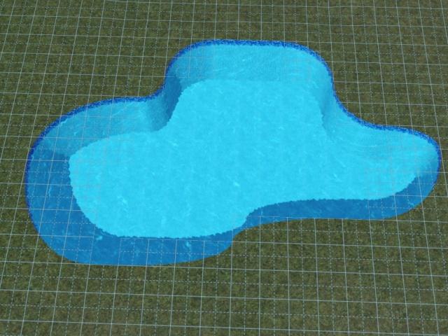 [Débutant] Construire une piscine ovale avec Accès VIP. Screen34