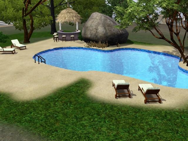 [Débutant] Construire une piscine ovale avec Accès VIP. Screen35