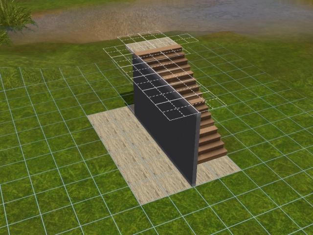 """[Apprenti] Construire une """"rampe"""" d'escalier contemporaine. Screen37"""