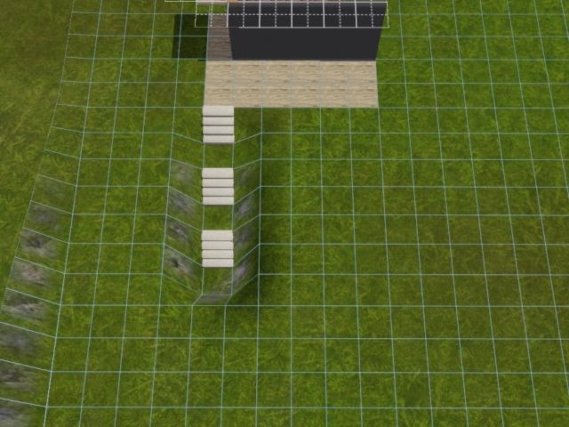 """[Apprenti] Construire une """"rampe"""" d'escalier contemporaine. Screen39"""