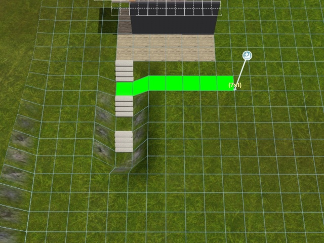 """[Apprenti] Construire une """"rampe"""" d'escalier contemporaine. Screen41"""