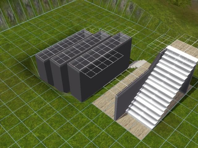 """[Apprenti] Construire une """"rampe"""" d'escalier contemporaine. Screen45"""