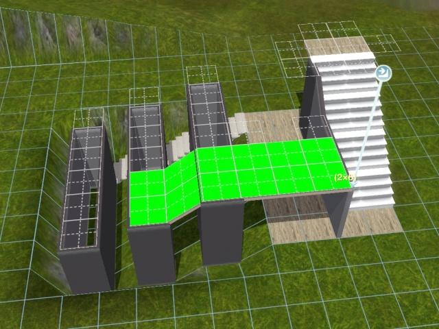"""[Apprenti] Construire une """"rampe"""" d'escalier contemporaine. Screen46"""
