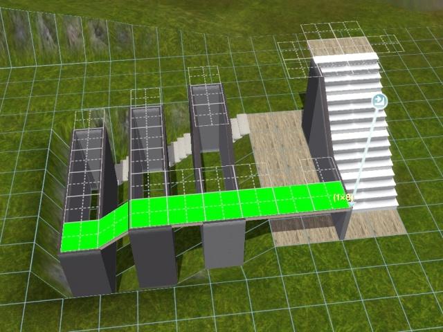 """[Apprenti] Construire une """"rampe"""" d'escalier contemporaine. Screen47"""