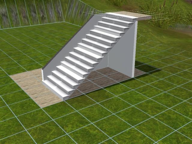 """[Apprenti] Construire une """"rampe"""" d'escalier contemporaine. Screen48"""